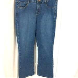 LEE SINFULLY SOFT WOMEN'S STRAIGHT FIT JEANS 16REG